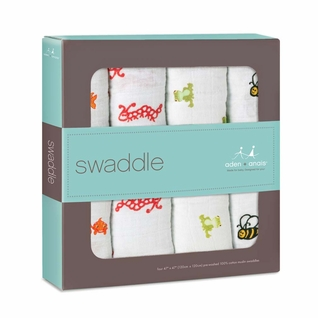SOLD OUT Aden + Anais Classic Swaddles 4 Pack - Mod About Baby