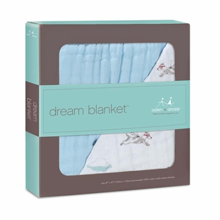 SOLD OUT Aden + Anais Dream Blanket - Liam The Brave-Flying Dog
