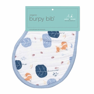 SOLD OUT  Aden + Anais Organic Burpy Bib Single Pack - Into The Woods
