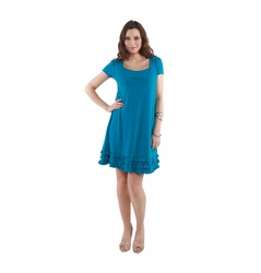 Annee Andres Maternity And Nursing Ruffled Dress