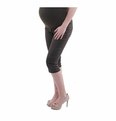 Annee Matthew Pencil Capri Maternity Pants