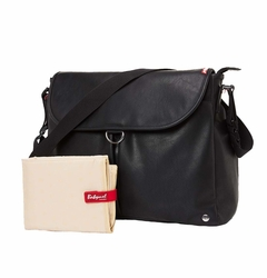 TEMPORARILY OUT OF STOCK Babymel Ally Satchel Diaper Bag - Black