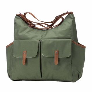 TEMPORARILY OUT OF STOCK Babymel Frankie Diaper Bag - Moss