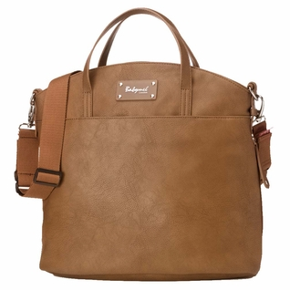 TEMPORARILY OUT OF STOCK Babymel Grace Tote Diaper Bag - Tan