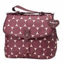 SOLD OUT Babymel Satchel Diaper Bag - Cherry Jumbo Dot