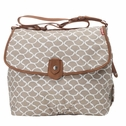 SOLD OUT Babymel Satchel Diaper Bag - Wave Fawn
