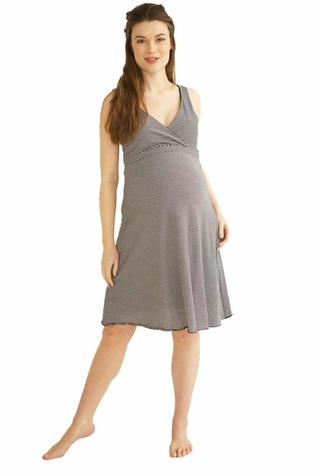 Belabumbum Before & After Reversible Maternity Nursing Dress