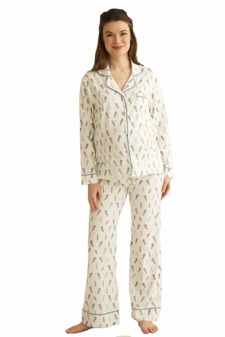 SOLD OUT Belabumbum Plume Classic Maternity Nursing Pajamas