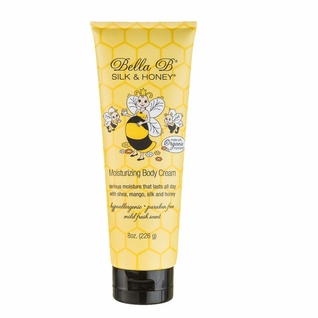 Bella B Silk & Honey Moisturizing Body Cream