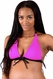 SOLD OUT Bikini Mamas Hot Pink Maternity Nursing Bikini Top