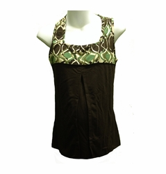Blissful Babes Racerback Athletic Maternity Nursing Tank - FINAL SALE