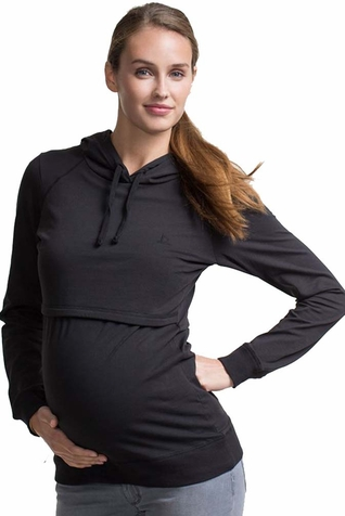 SOLD OUT Boob B-Warmer Organic Cotton Maternity Nursing Hoodie