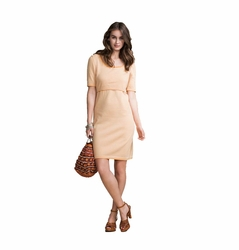 Boob Maternity Nursing Short Sleeve Knitted Dress