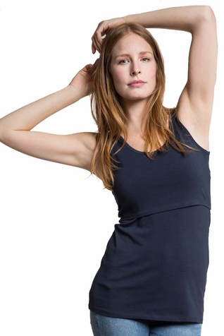 TEMPORARILY OUT OF STOCK Boob Organic Cotton Maternity Nursing Singlet Tank Top