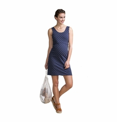 SOLD OUT Boob Organic Cotton Maternity Nursing Dot Tank Dress