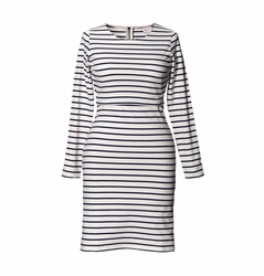 SOLD OUT Boob Simone Striped Maternity Nursing Long Sleeved Dress