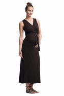 SOLD OUT Boob Sophia Maternity Nursing Sleeveless Long Dress