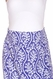 SOLD OUT Due Maternity Isabella Pregnancy And Beyond Maxi Skirt  - Blue/White