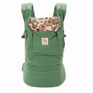 SOLD OUT Ergobaby Organic Ergo Baby Carrier - Green/River Rock