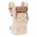 SOLD OUT Ergobaby Organic Ergo Baby Carrier - Taupe/Lattice