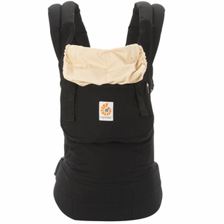 SOLD OUT Ergobaby Original Ergo Baby Canvas Carrier - Black/Camel