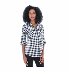 SOLD OUT Everly Grey Batina Button Down Maternity Shirt
