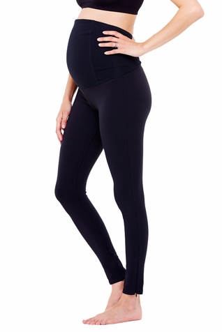 TEMPORARILY OUT OF STOCK Ingrid & Isabel Maternity Active Fitness Pant With Crossover Panel - Long Legging