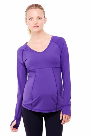 TEMPORARILY OUT OF STOCK Ingrid & Isabel Active Long Sleeve Maternity Top