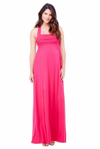 TEMPORARILY OUT OF STOCK Ingrid & Isabel Convertible Maternity Maxi Dress
