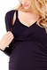 Ingrid & Isabel Empire Shirred V Neck Maternity Nursing Dress