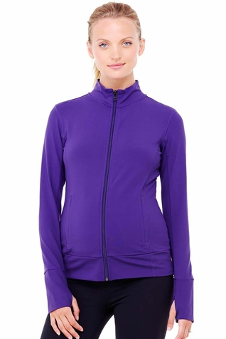 Ingrid & Isabel Side Zip Active Maternity Jacket