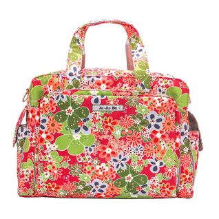SOLD OUT Ju-Ju-Be Be Prepared Messenger/Tote Diaper Bag - Perky Perennials