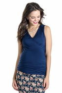 SOLD OUT Lilac Eva Sleeveless Maternity Nursing Top