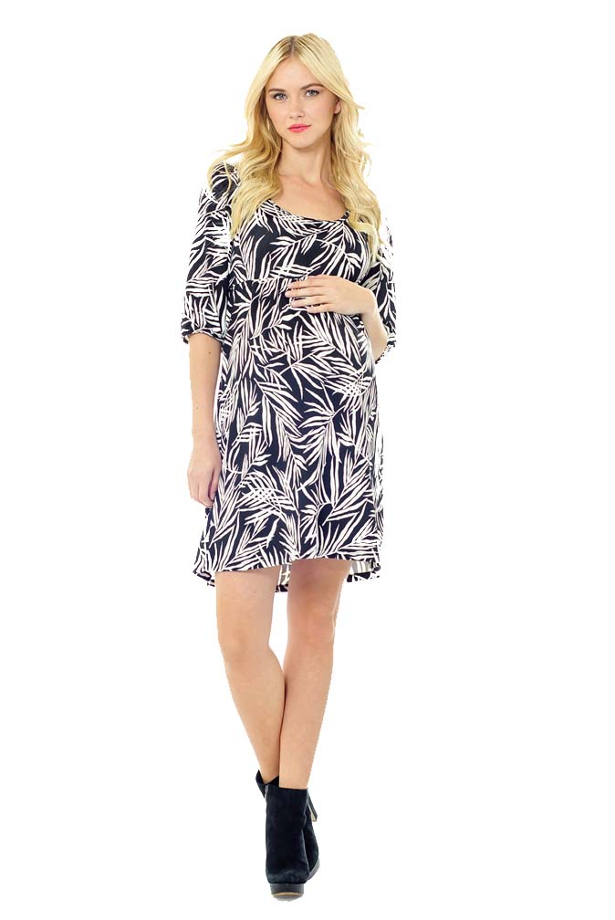 Lilac Kalli Tie Back Detail Maternity Dress   Maternity Clothes on ...