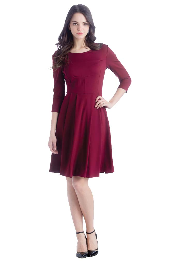 741ad5529d2c0 Lilac McCall Fit And Flare Maternity Dress | Maternity Clothes on ...