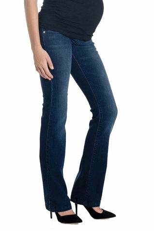 SOLD OUT Lilac Signature Bootcut Maternity Jeans - Dark Wash
