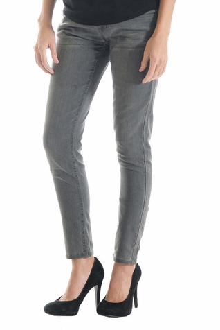 SOLD OUT Lilac Skinny 5 Pocket Maternity Jeans - Grey