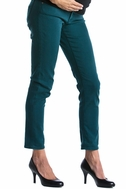 SOLD OUT Lilac Skinny 5 Pocket Maternity Jeans - Teal
