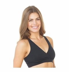Majamas Organic Sporty Racerback Nursing Sports Bra