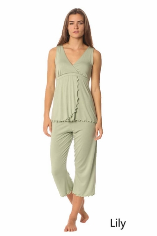 SOLD OUT Majamas Pachesi Maternity Nursing Pajama Lounge Set