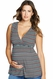Maternal America Maternity Sleeveless Top