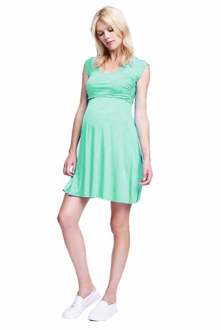 SOLD OUT Maternal America Mini Sweetheart Maternity Dress