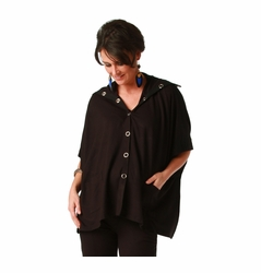 SOLD OUT Maternite Snap Front Maternity Poncho