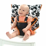 TEMPORARILY OUT OF STOCK My Little Seat Travel Highchair - Coco Snow