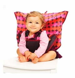 My Little Seat Travel Highchair - Pinky Buttons
