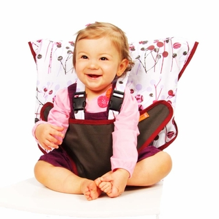 TEMPORARILY OUT OF STOCK My Little Seat Travel Highchair - Pocket Full Of Posies