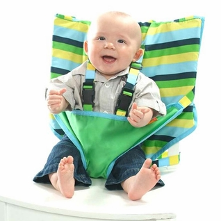 My Little Seat Travel Highchair - Seaside Stripe