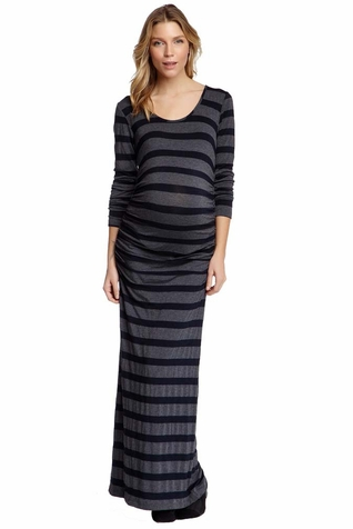 NOM Ada Maternity Maxi Dress