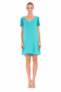 SOLD OUT Olian Eloise Chiffon Maternity Shirt Dress