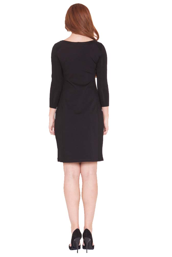 Olian Eloise Lace Inset Maternity Cocktail Dress | Maternity Clothes ...